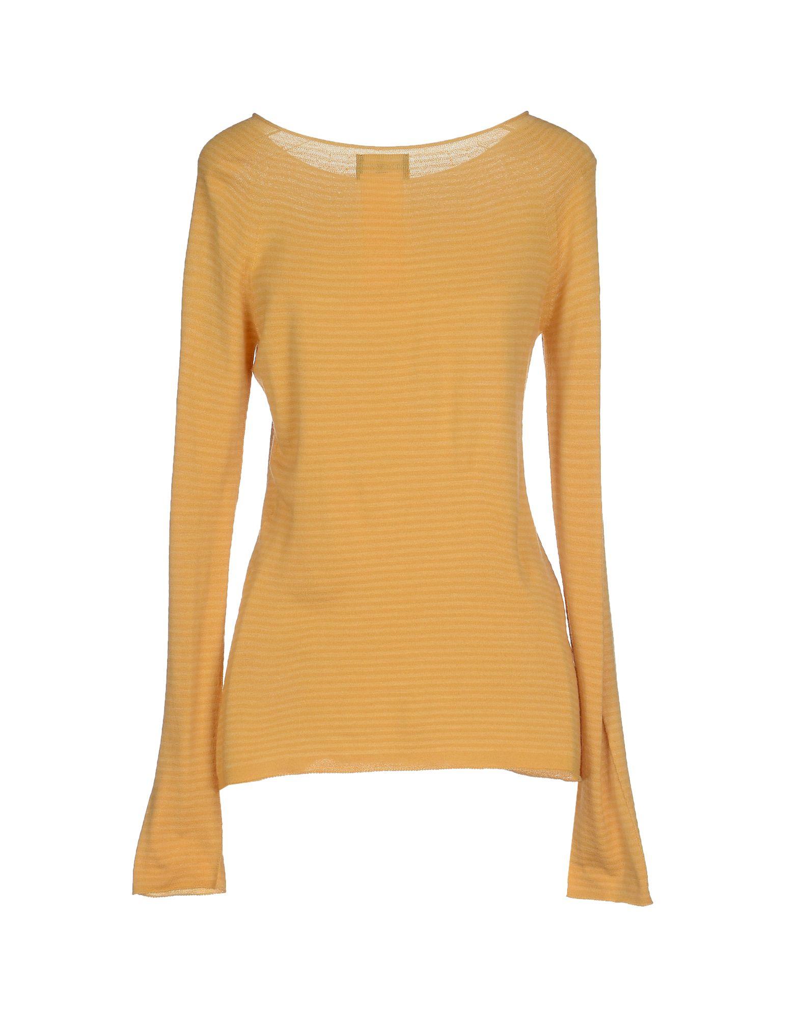 emporio armani sweater in orange lyst. Black Bedroom Furniture Sets. Home Design Ideas
