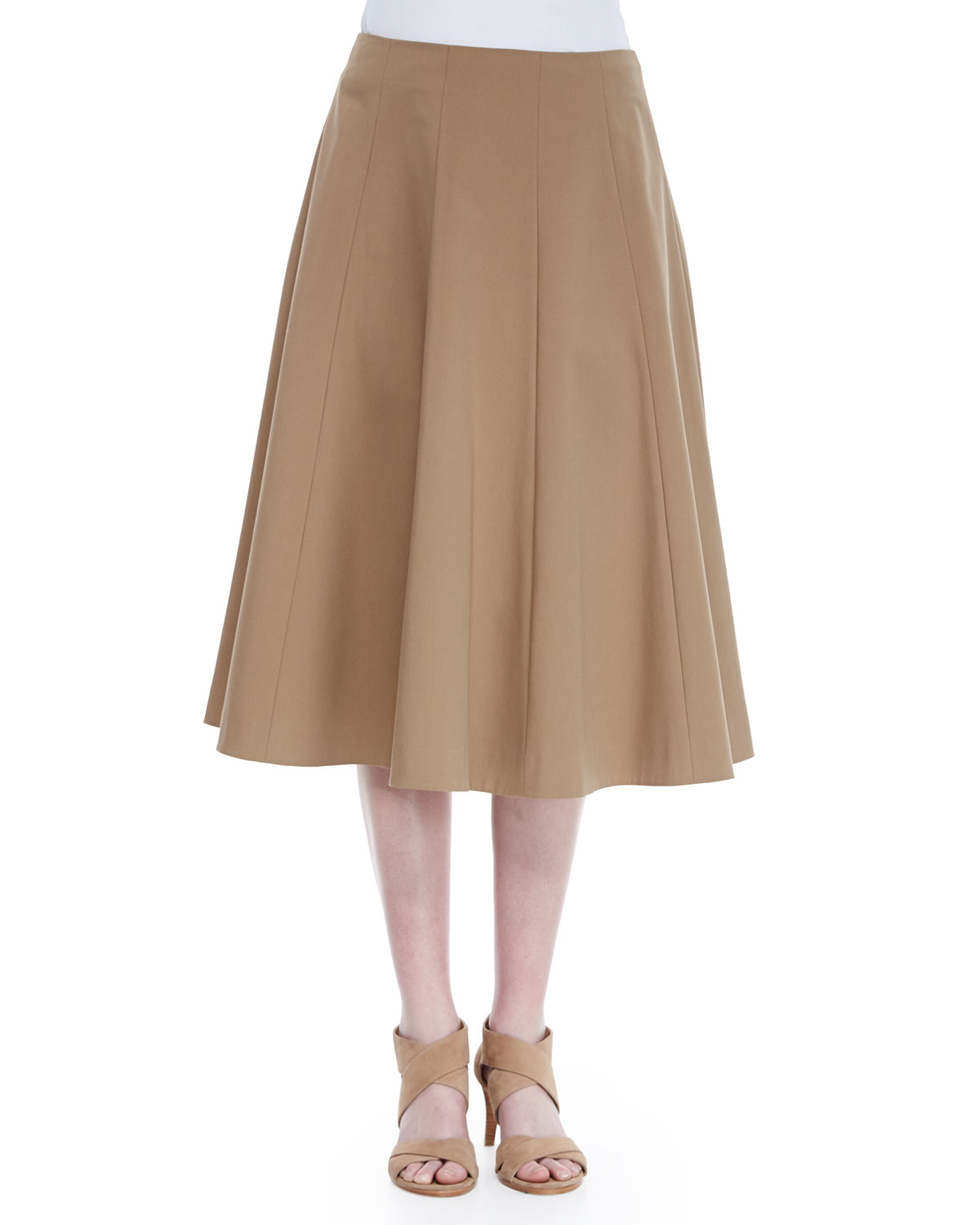 Lafayette 148 new york Nevada A-line Skirt in Natural | Lyst