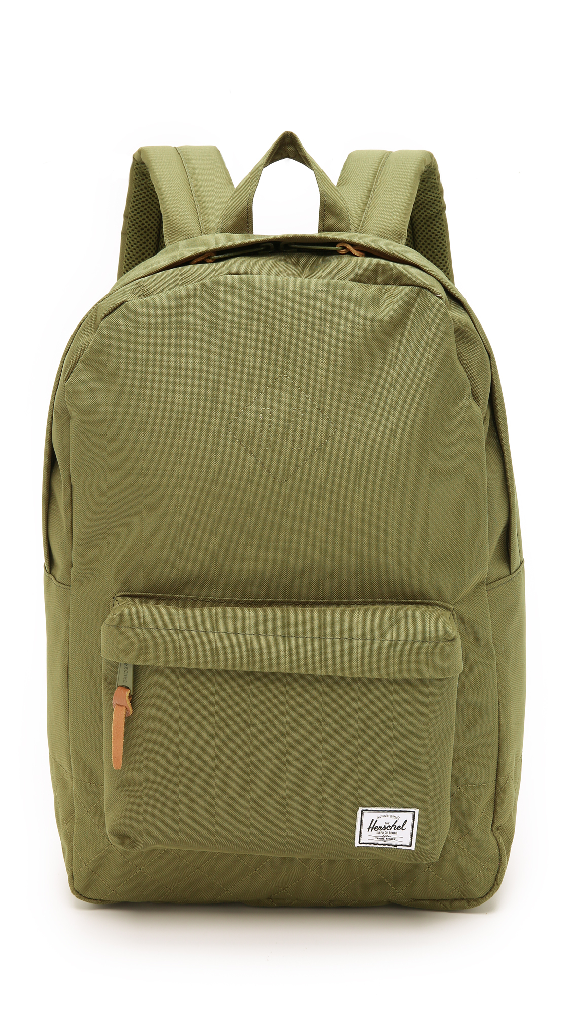 310df3c74ea1 Lyst - Herschel Supply Co. Heritage Quilted Backpack in Green for Men