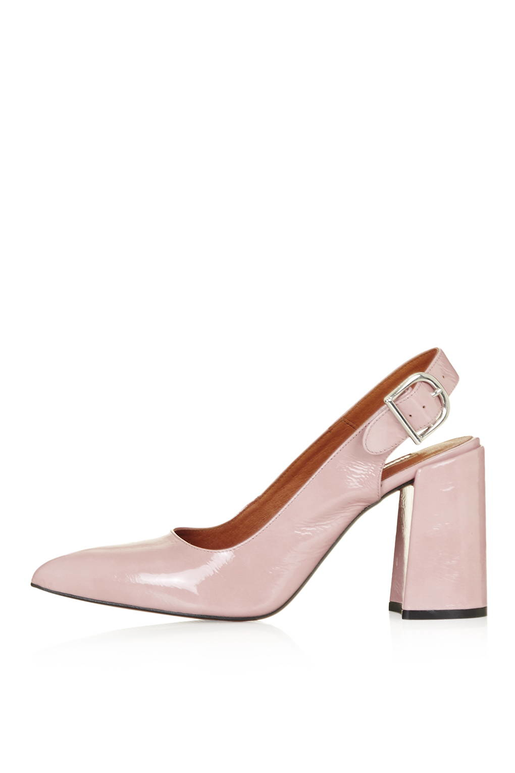 719f0e3ee32 Lyst - TOPSHOP Gramercy Slingback Shoes in Pink