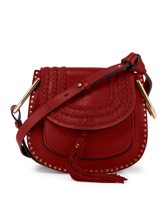c14546126c Lyst - Chloé Hudson Mini Suede and Calfskin Shoulder Bag in Brown