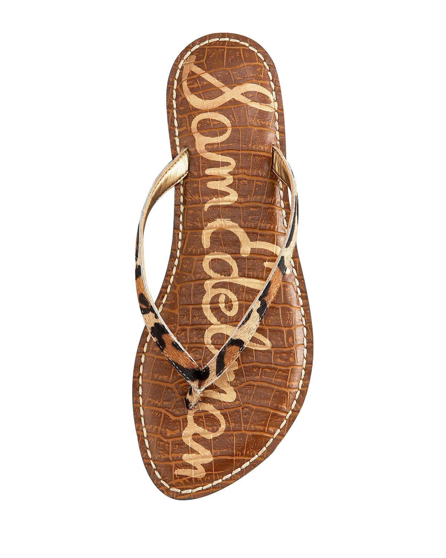 59139815d Lyst - Sam Edelman Gracie Flat Thong Sandal