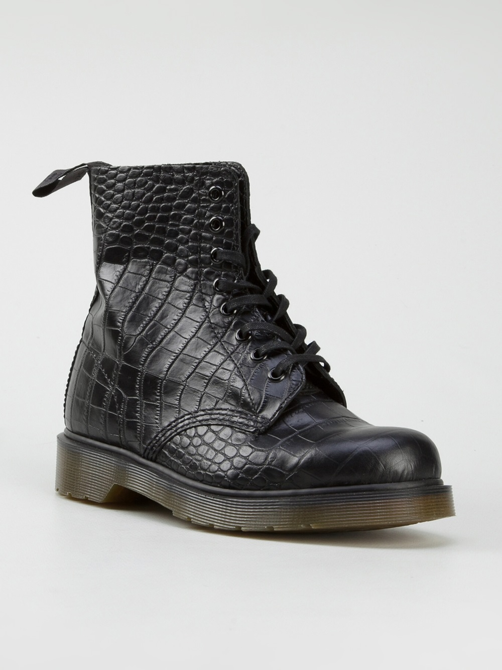 dr martens pascal boots in black lyst. Black Bedroom Furniture Sets. Home Design Ideas
