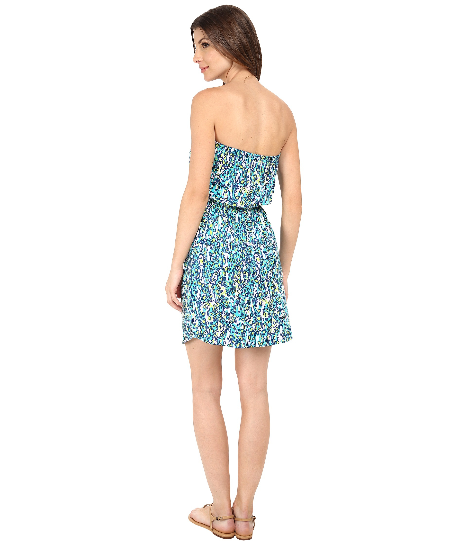 bd66513dec1 Lilly Pulitzer Windsor Dress in Green - Lyst