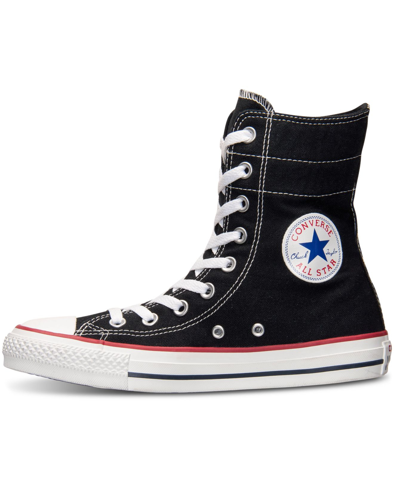 f16465dd836a Lyst - Converse Women s Chuck Taylor High Rise Casual Sneakers From ...