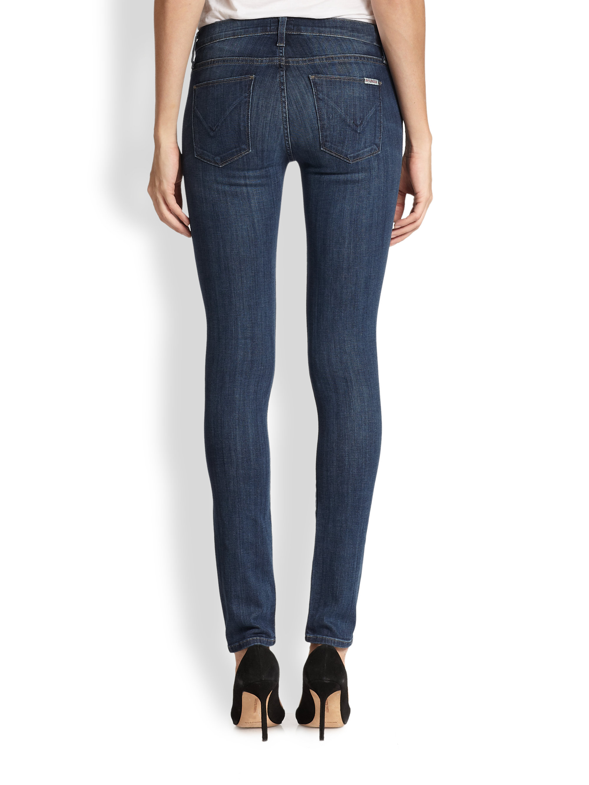 Lyst Hudson Jeans Colette Skinny Jeans In Blue