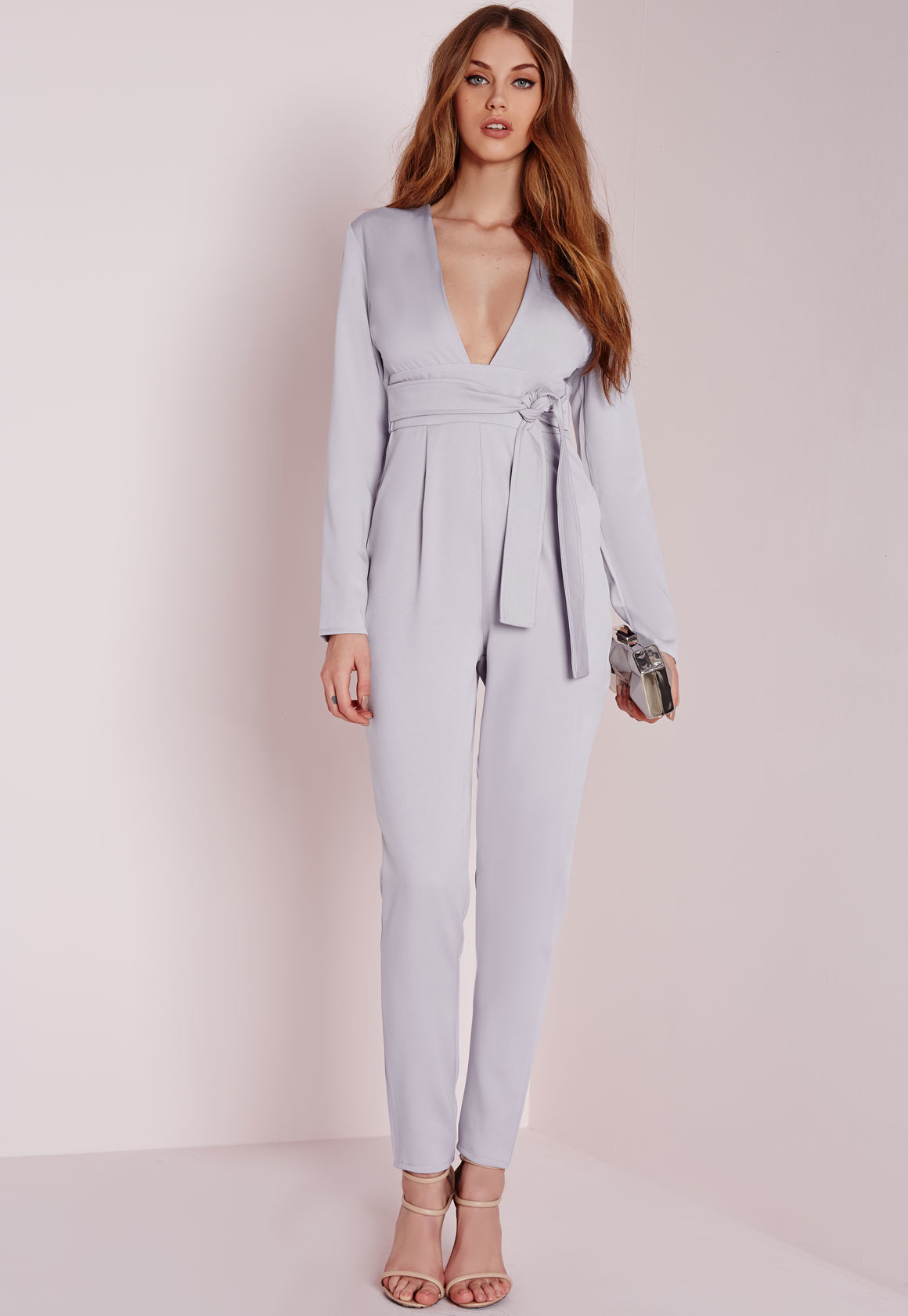 Nothing is more flattering than long sleeves, and this collection showcases a killer collection of chic long sleeve jumpsuits. Keep it classic with a tailored piece, feel the force of florals in an all over floral beauty or keep it minimal with a sexy wrap jumpsuit all finished with long sleeves.