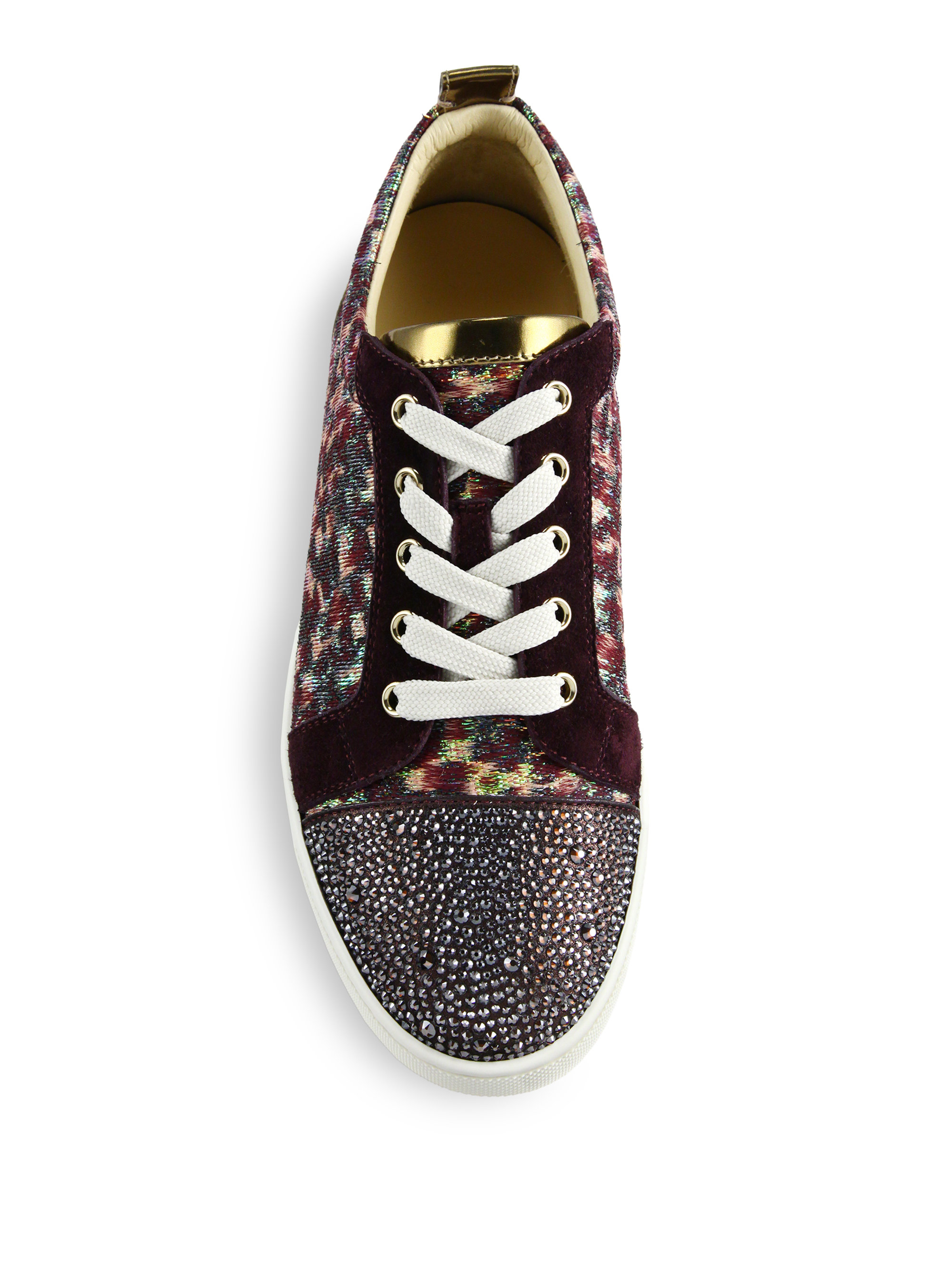 645101877c58 Lyst - Christian Louboutin Gondolastrass Low-top Sneakers in Purple