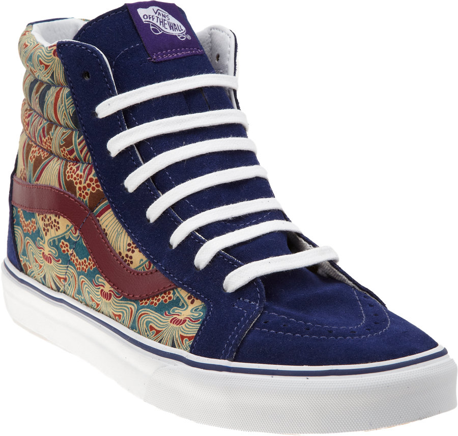 81dd5fd016d38e Lyst - Vans Liberty Sk8hi Reissue in Blue for Men
