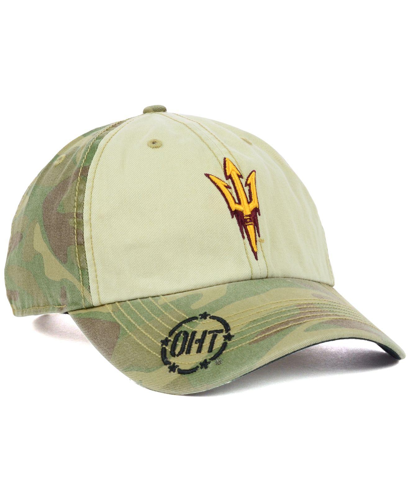 sports shoes 032d7 f40a4 47 Brand Arizona State Sun Devils Oht Gordie Clean Up Cap in Green ...
