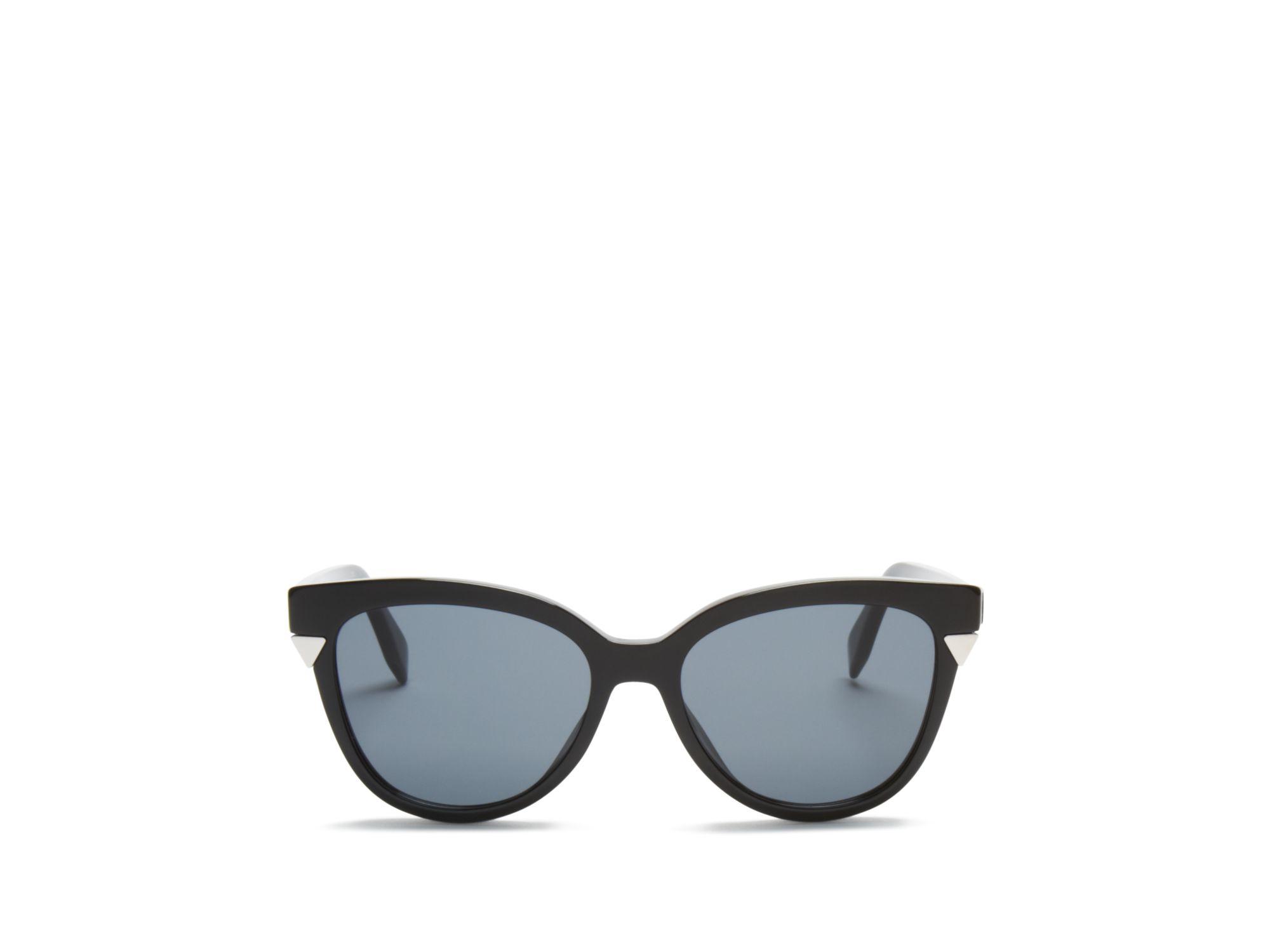 cbe1a897f63d Lyst - Fendi Cat Eye Sunglasses in Black