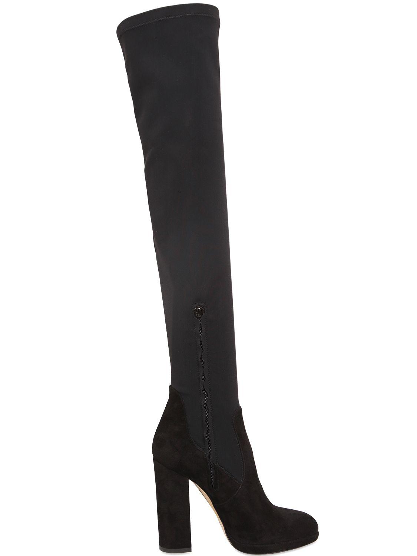 Boots suede black Giampaolo Viozzi 3gPHxrvlGw