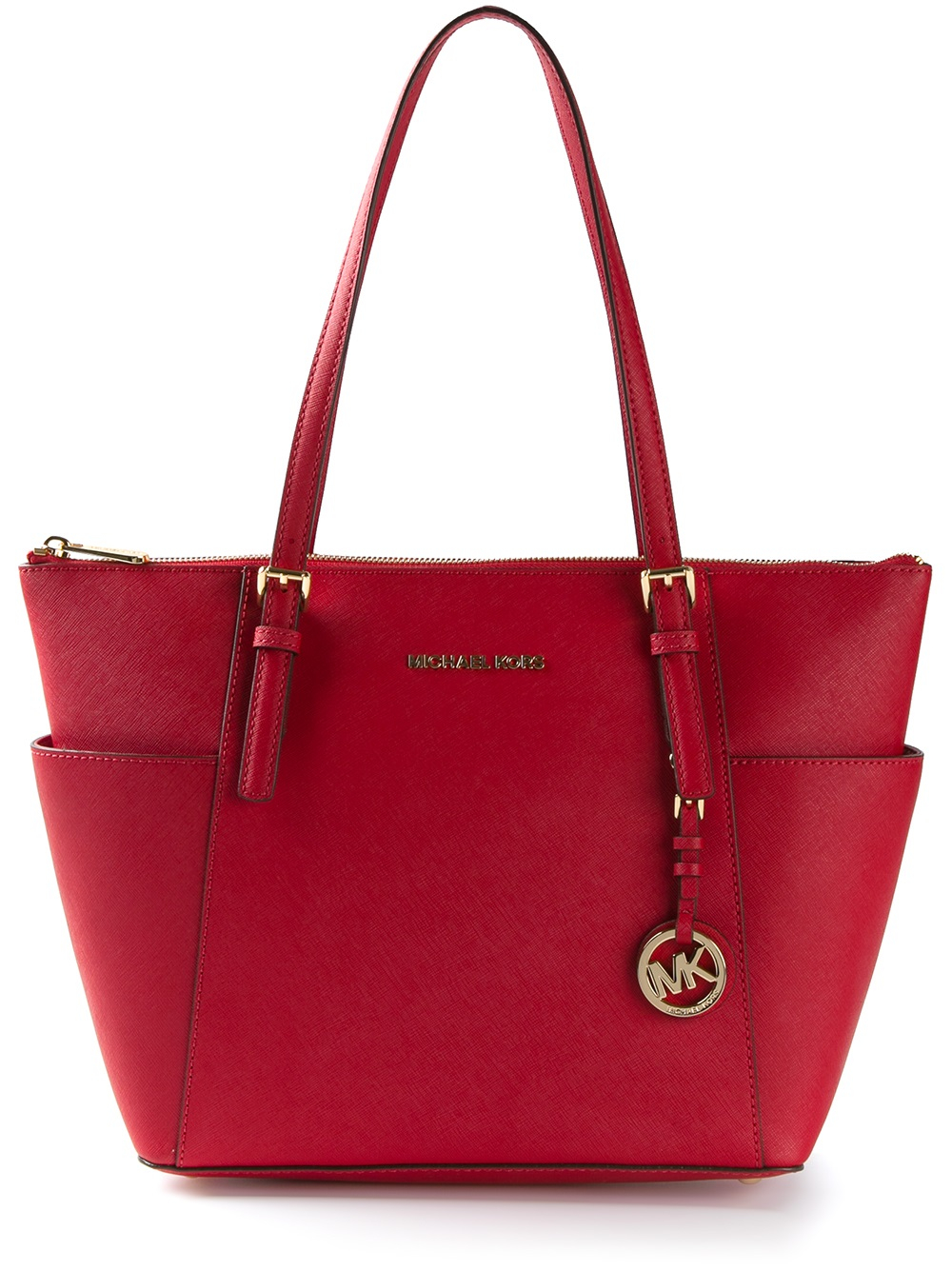 c8c3b52afe28 Michael Kors Saffiano Tote Red | Stanford Center for Opportunity ...