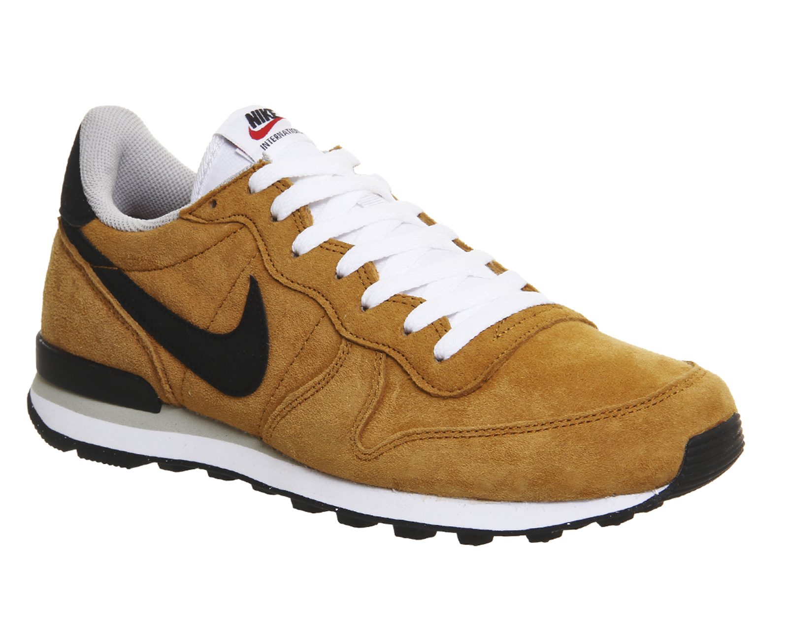 nike men 39 s nike internationalist premium sneakers in natural for men lyst. Black Bedroom Furniture Sets. Home Design Ideas