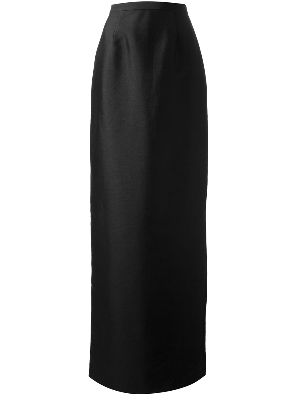 Raoul Long Pencil Skirt in Black | Lyst