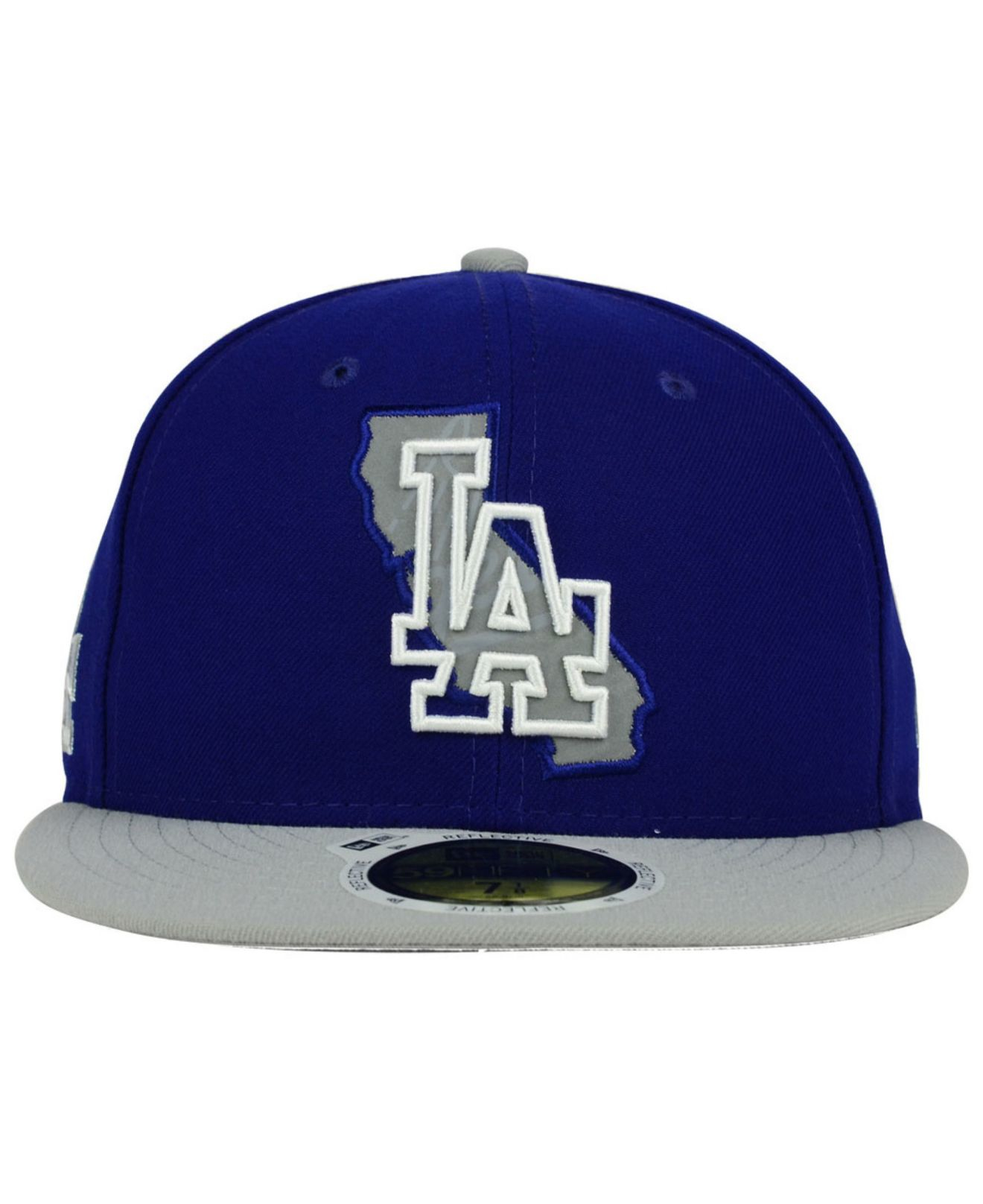 premium selection 5d820 b2fed ... coupon code for lyst ktz los angeles dodgers state reflective redux 59fifty  cap in 38426 ef7c2