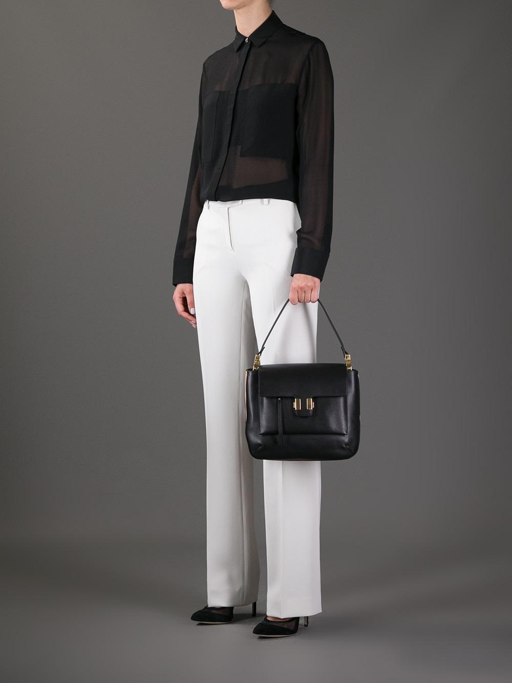 Chlo�� Medium \u0026#39;Amelia\u0026#39; Shoulder Bag in Black | Lyst
