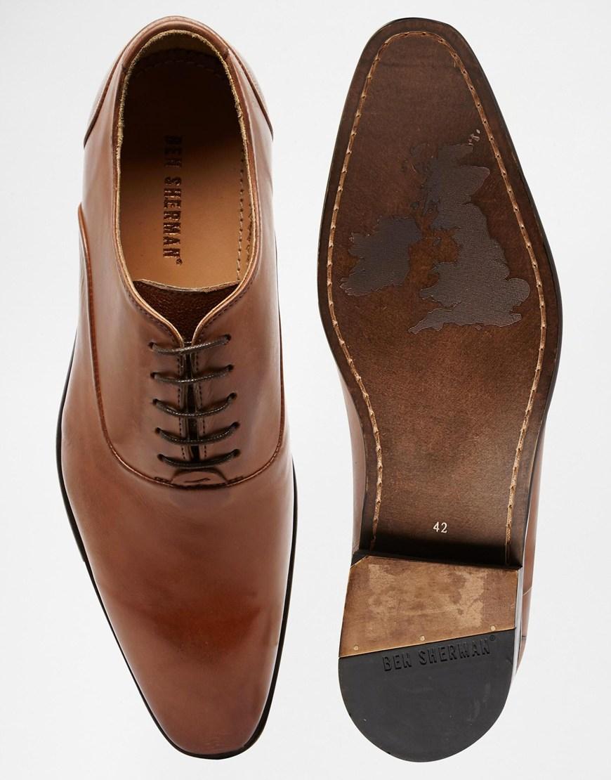 Ben in Shoes Sherman Iley Brown Men Oxford Lyst for CBexdro