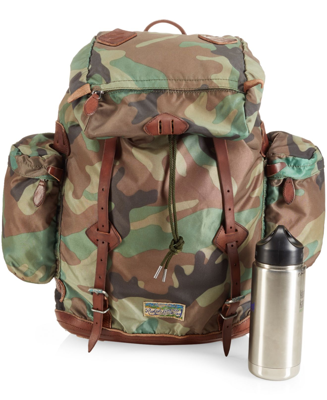261446a411 Lyst - Polo Ralph Lauren Yosemite Nylon Camo Backpack in Green for Men