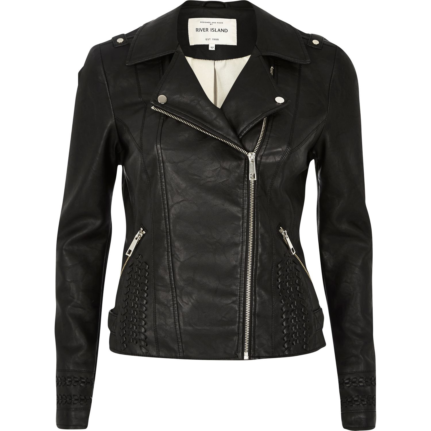 Complete your wardrobe with a head-turning leather jacket from our iconic collection. Featuring classic biker jackets in black, brown and tan, faux fur collars, cropped and gothic styled jackets.