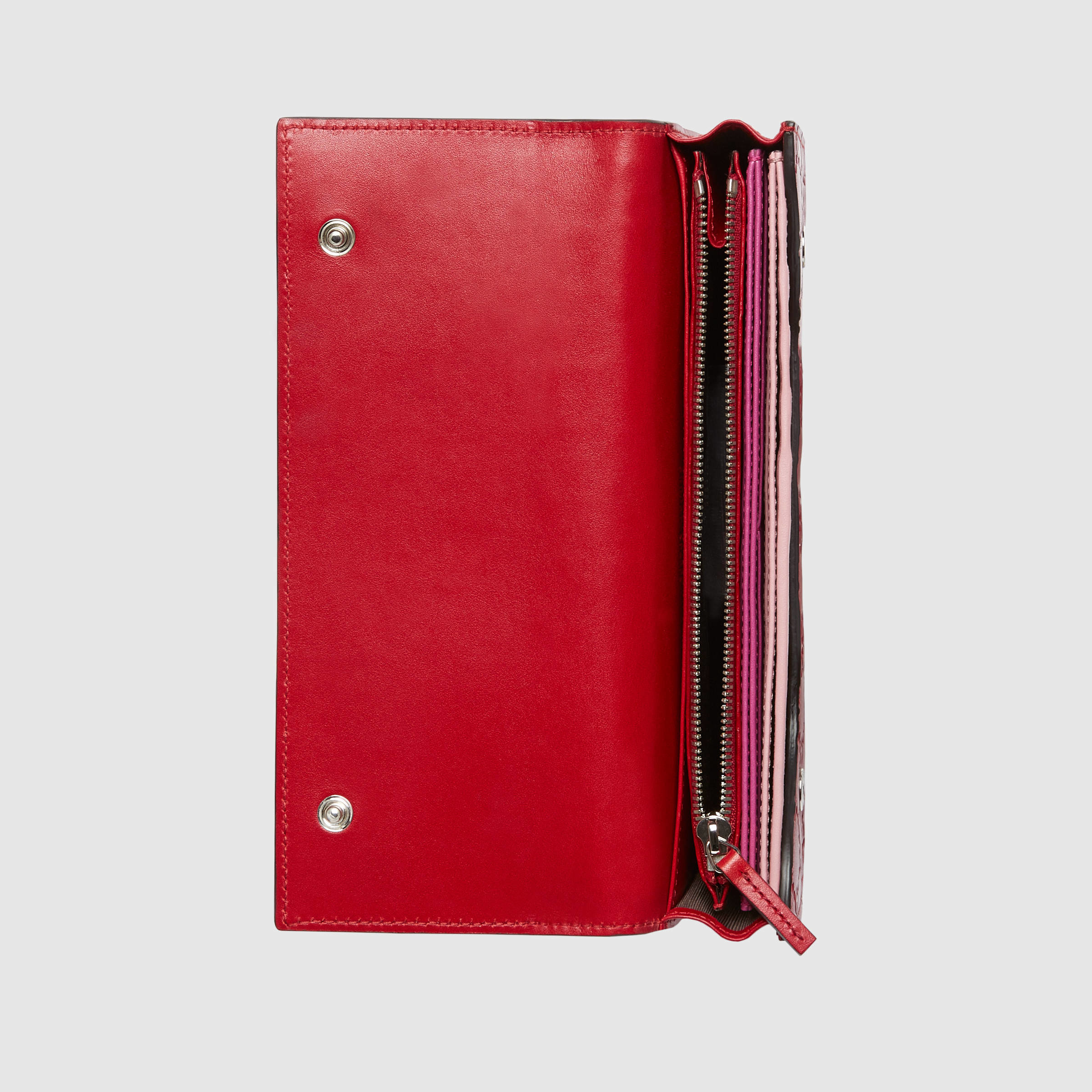 Gucci Signature Travel Document Case In Red Lyst