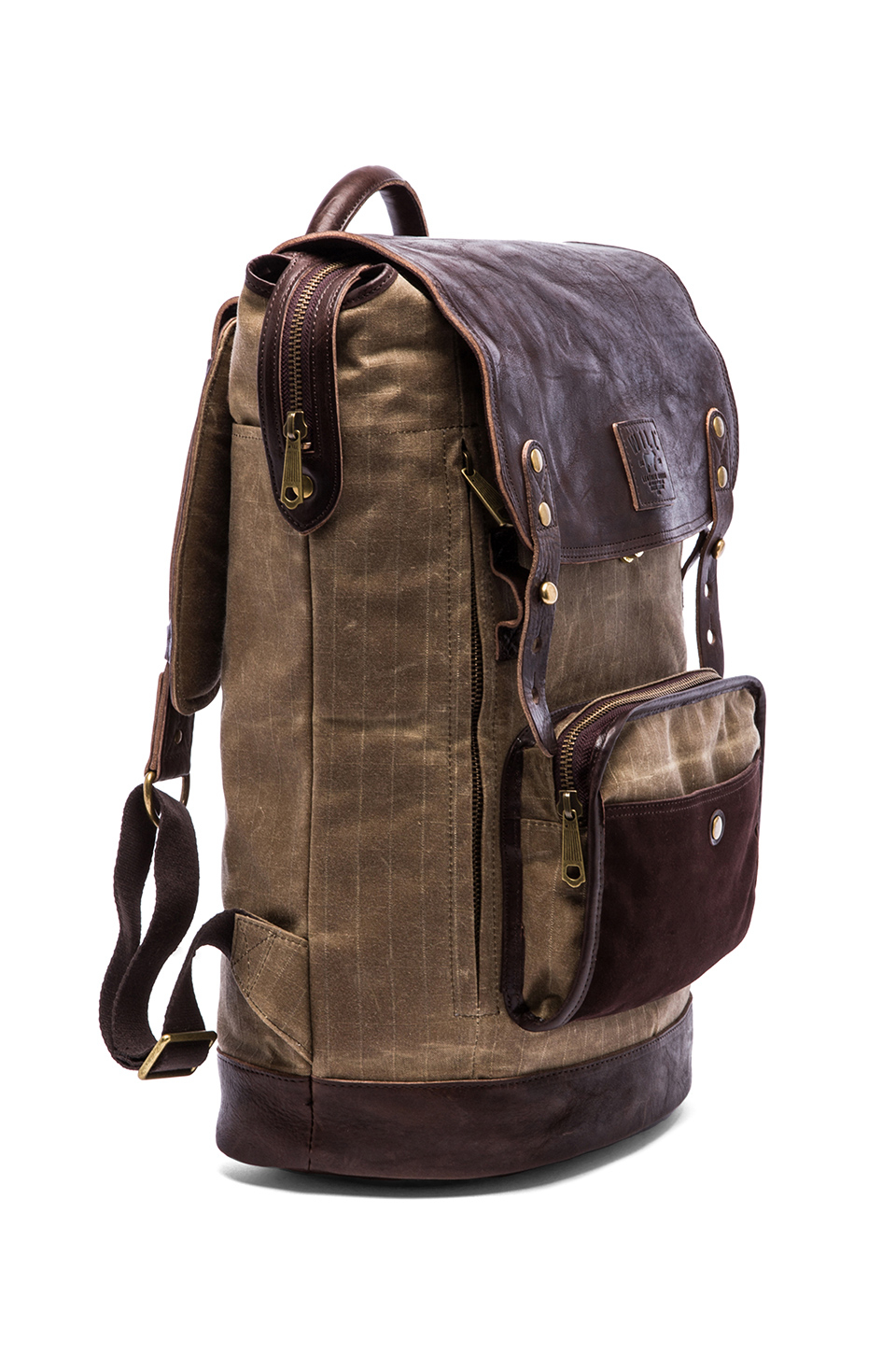 Will leather goods The Frontier Backpack in Brown for Men | Lyst