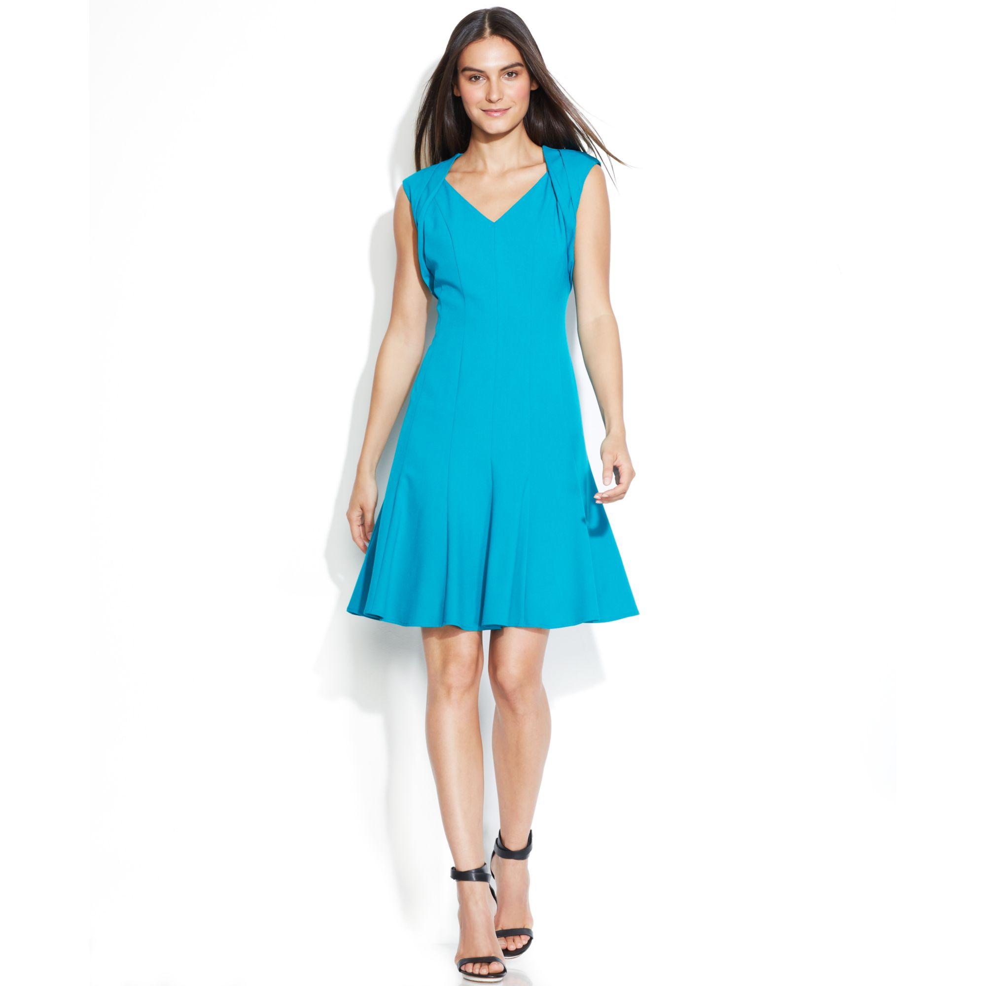 Calvin Klein Blue Dresses | Dress images