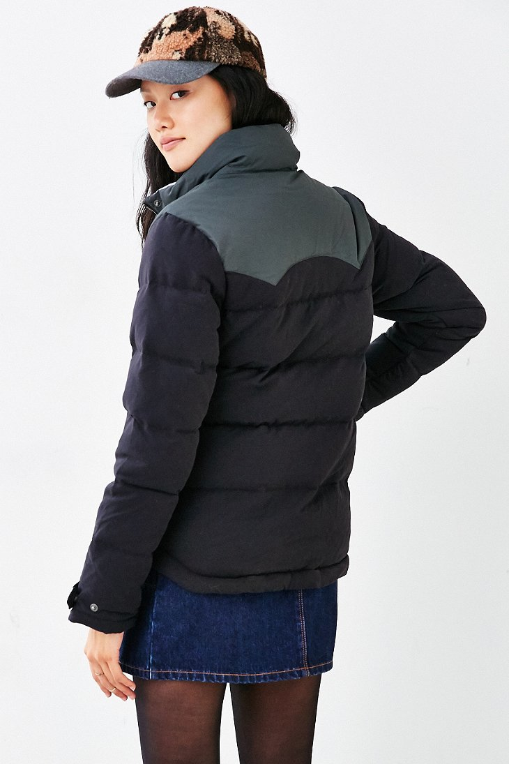 Lyst Patagonia Bivy Puffer Jacket In Black