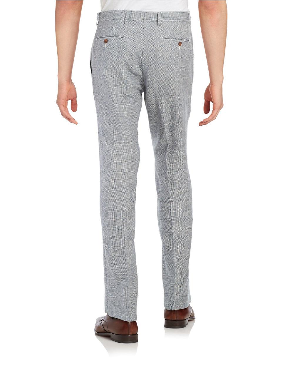 Ralph Lauren Mens Linen Dress Pants Anlis