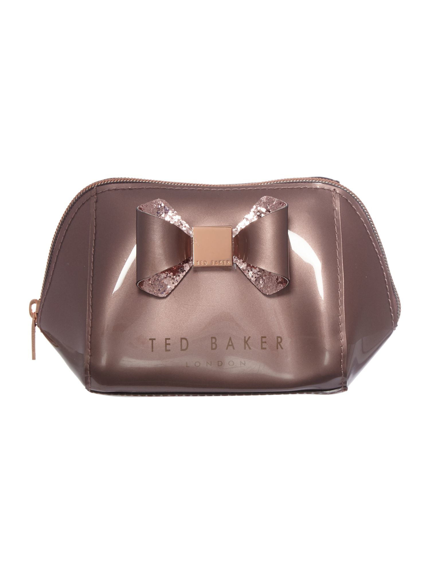 558970d562 Ted Baker Jillie Pink Small Bow Cosmetic Bag in Pink - Lyst