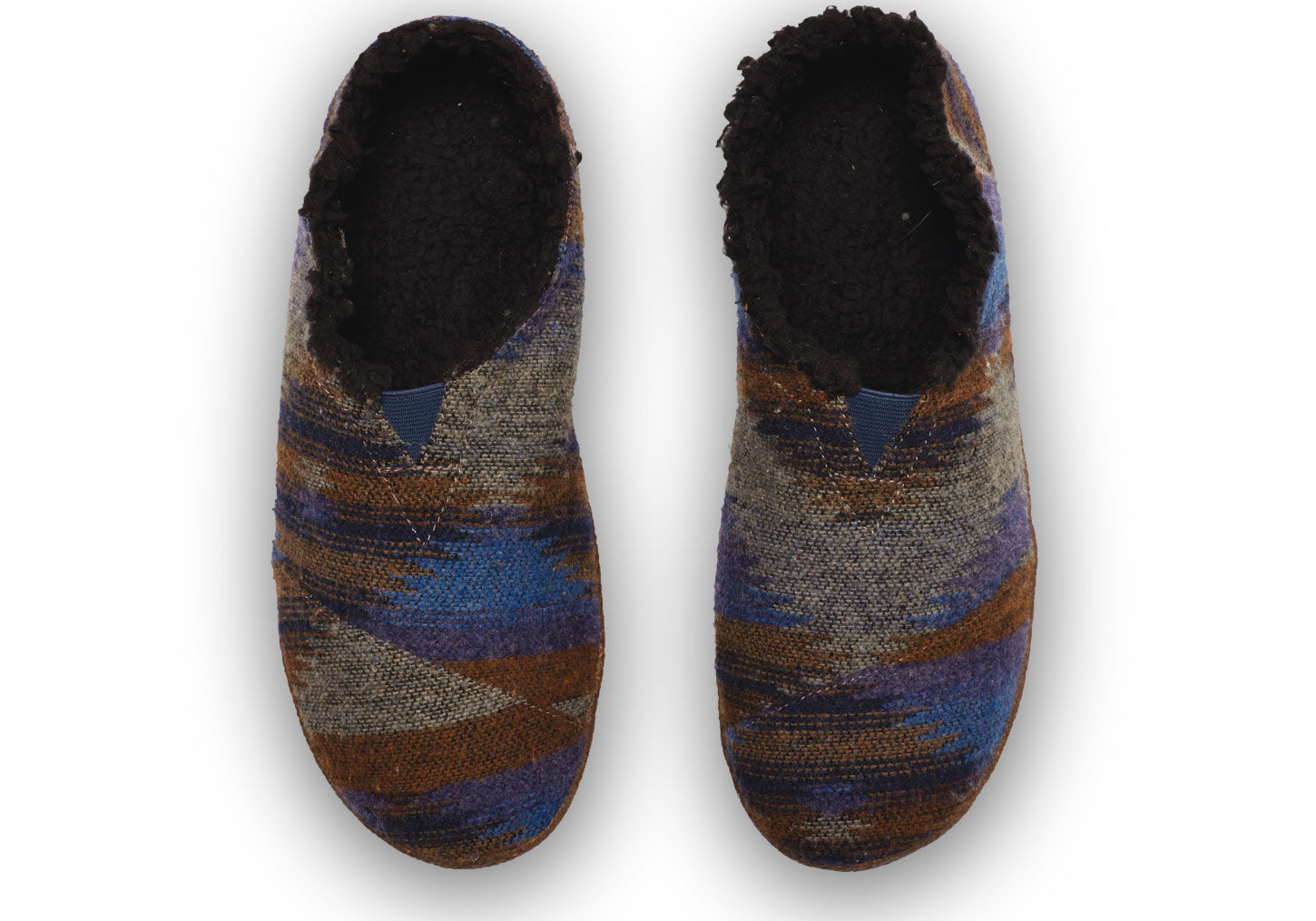 Lyst - Toms Blue Wool Menu0026#39;s Slippers In Blue For Men