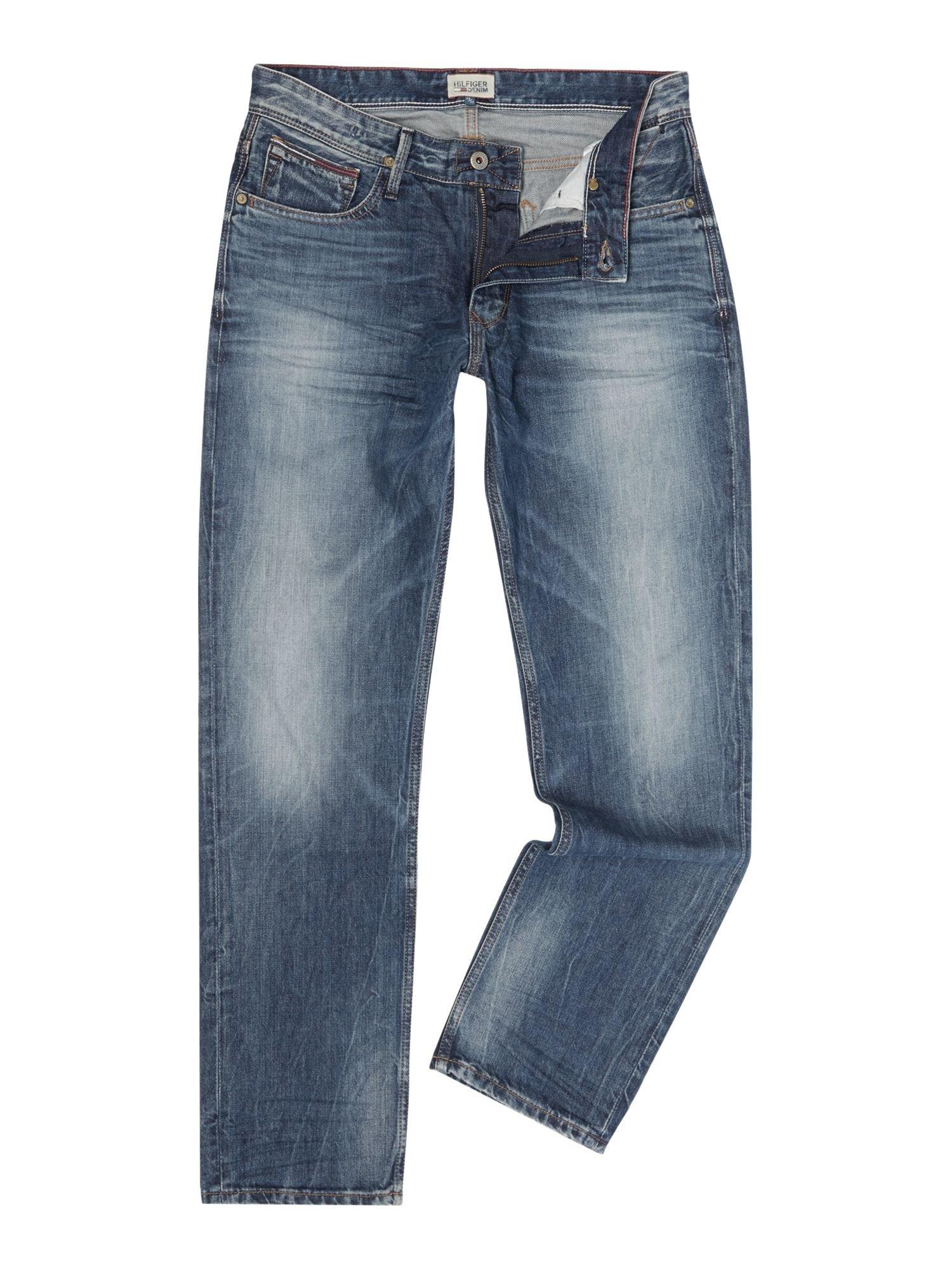 tommy hilfiger ryan peb jeans in blue for men lyst. Black Bedroom Furniture Sets. Home Design Ideas