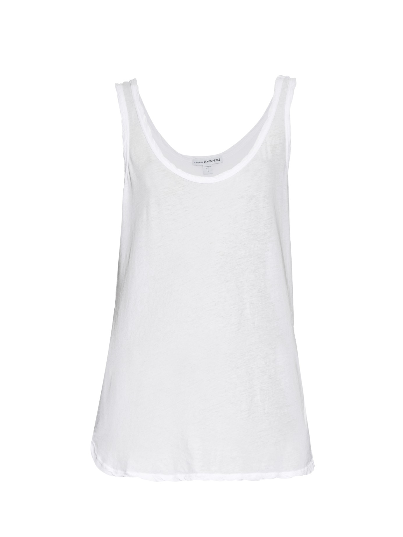 Cheap Sale High Quality White cotton tank top James Perse Sale Clearance Store Geniue Stockist Online Genuine Online Outlet Order Online LpQ0xw