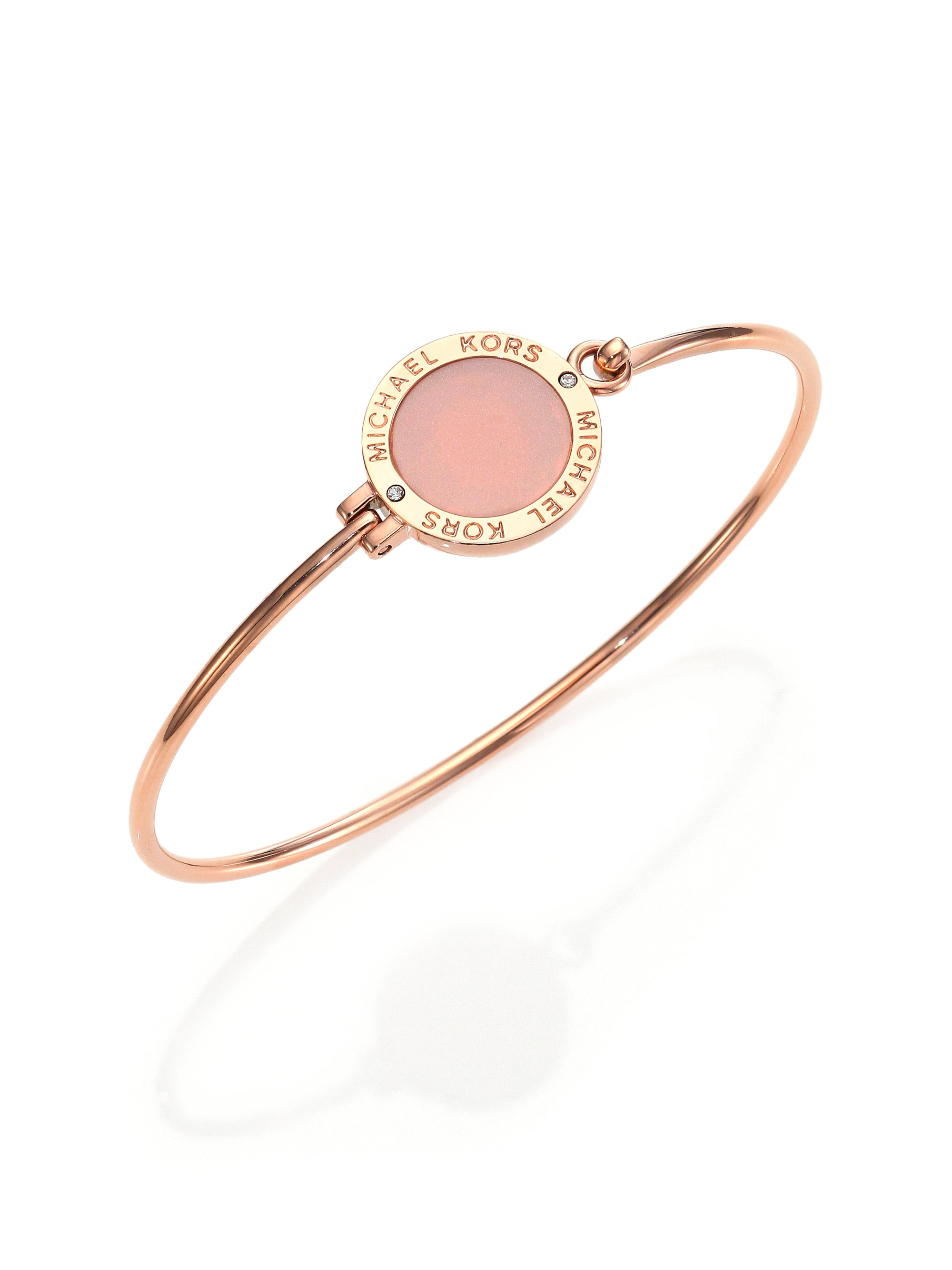 4ed6394b6e95a Gallery. Previously sold at  Saks Fifth Avenue · Women s Michael Kors Bangle  ...