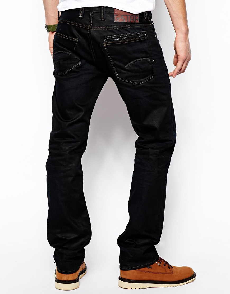 Lyst G Star Raw G Star Jeans Attacc Low Straight Lexicon