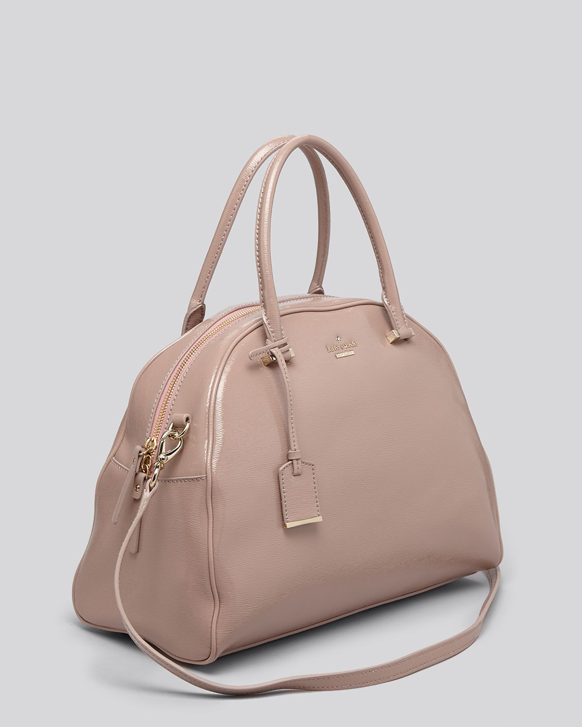 Lyst - Kate Spade New York Satchel - Cedar Street Patent Pearl in Pink