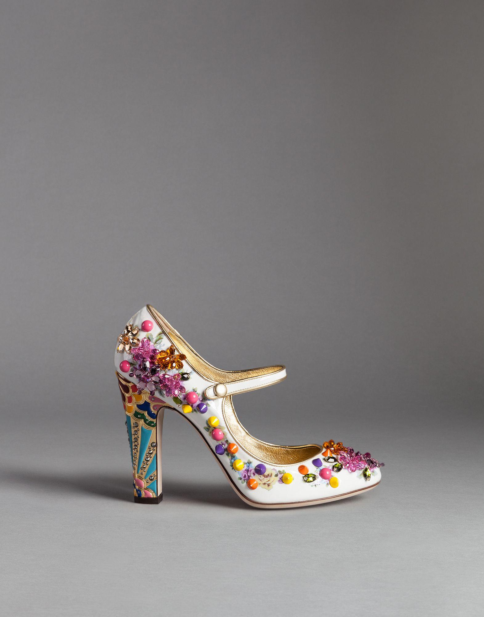 Dolce & Gabbana Pumps nappa leather Gem Sequins c2bitqorh