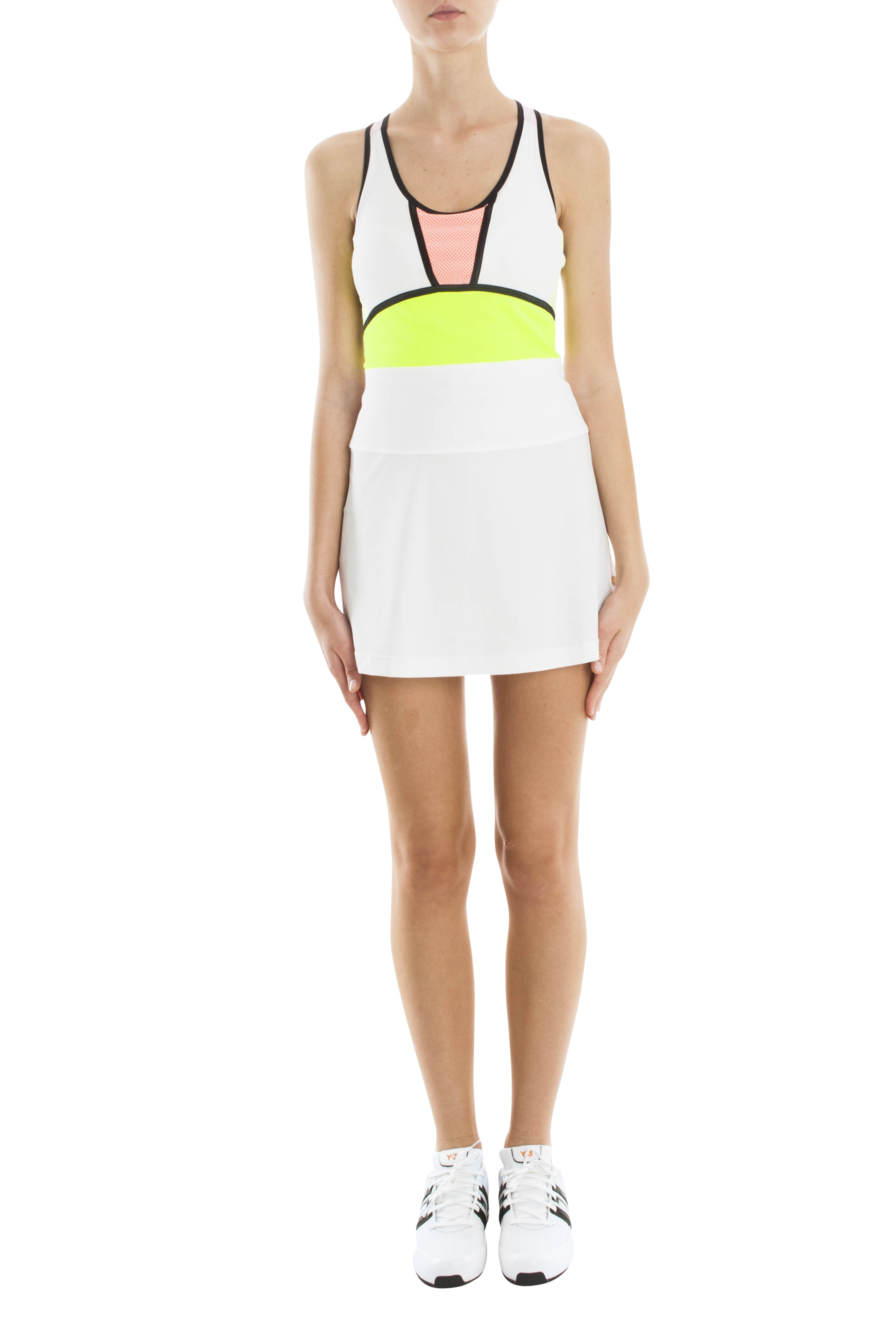Monreal London Patchwork Tank Dress In White Lyst
