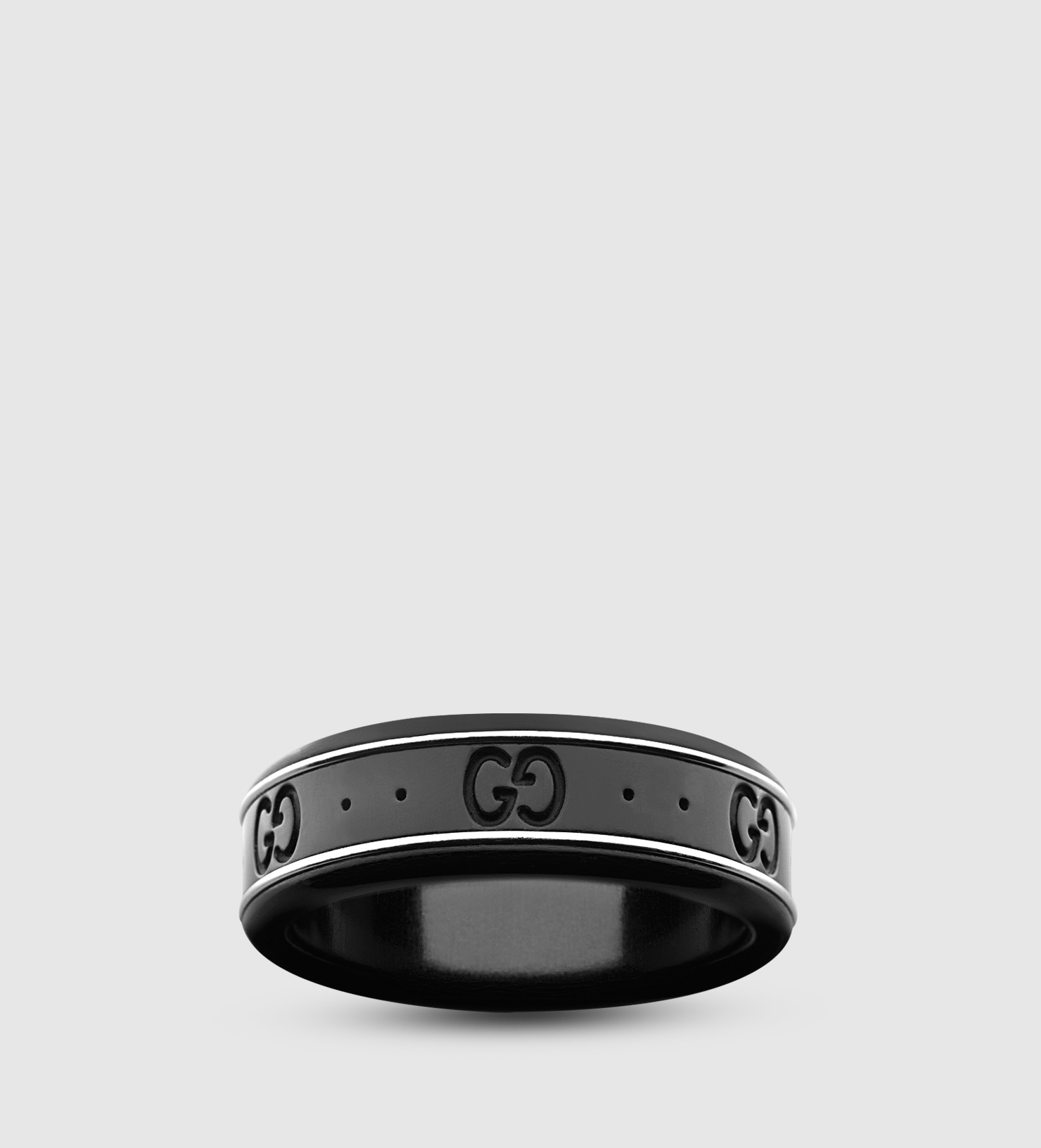 Gucci Icon thin band in white gold i2LwD