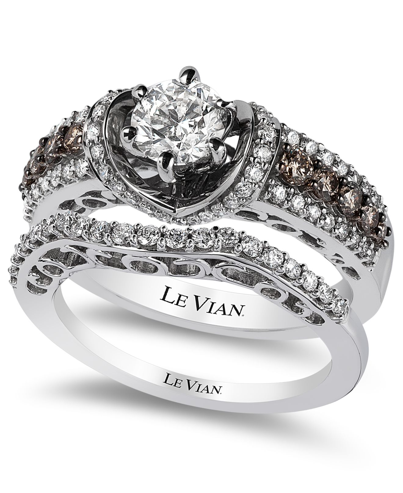 e8a18c692 Gallery. Previously sold at: Macy's · Women's Engagement Rings Women's Le  Vian Chocolate ...