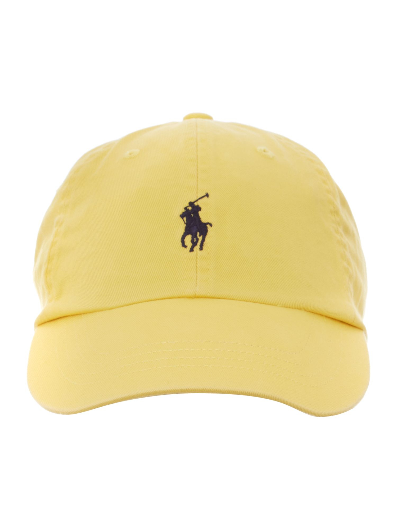 polo ralph lauren classic logo sport cap in yellow for men. Black Bedroom Furniture Sets. Home Design Ideas
