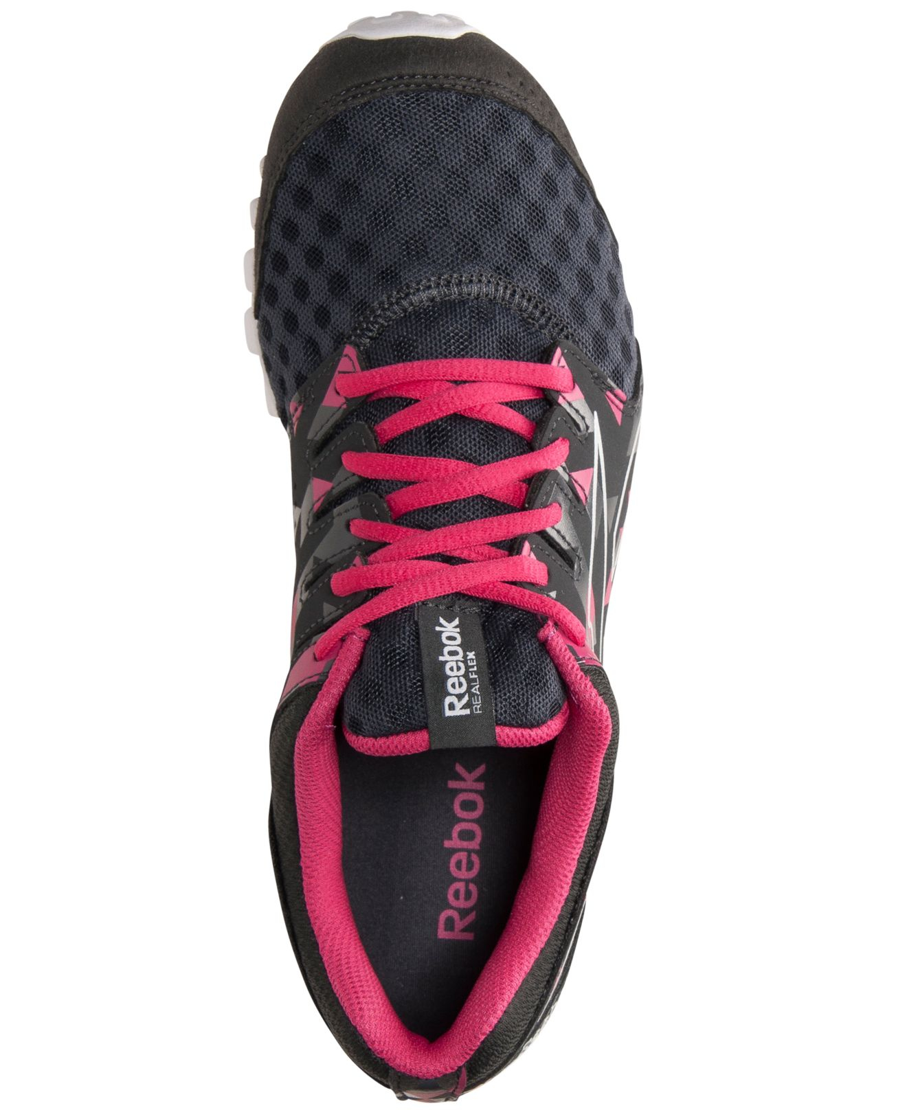 b1f9d6614ab432 Lyst - Reebok Womens Realflex Scream 30 Running Sneakers From Finish ...