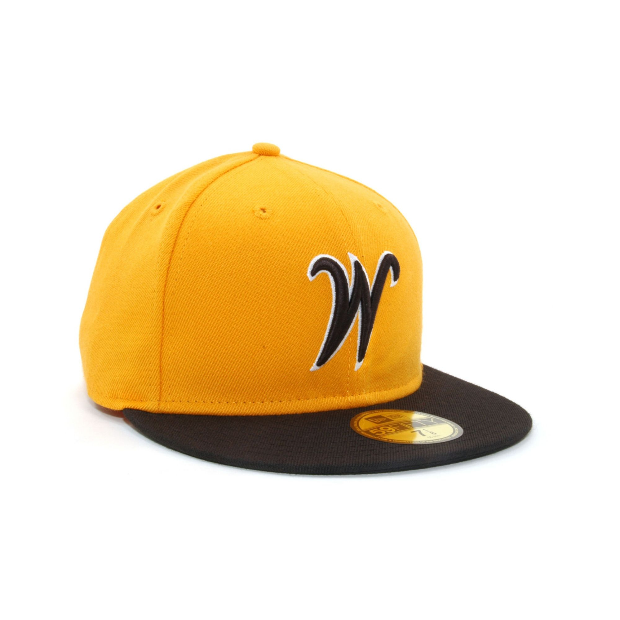 6d513ef560644 ... promo code for lyst ktz wichita state shockers 2 tone 59fifty cap in  yellow for men