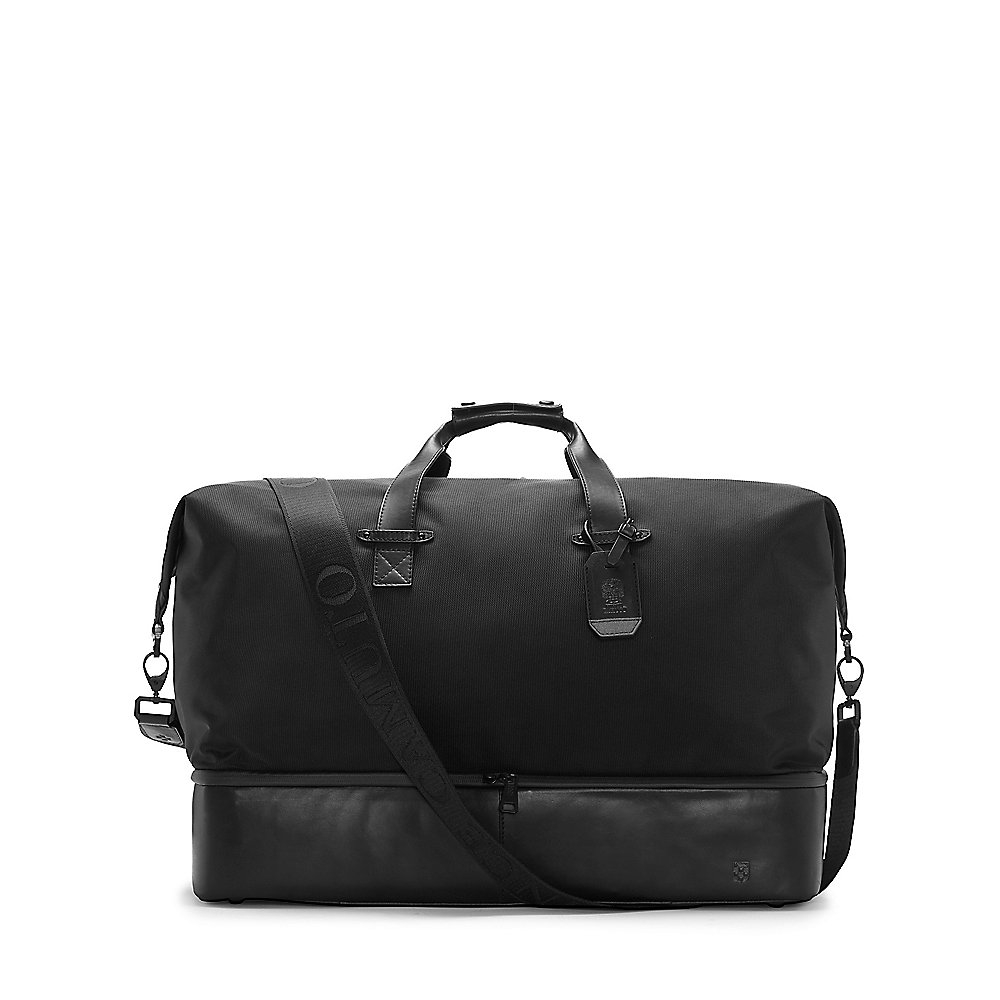 Lyst Vince Camuto Sezze Leather Duffel Bag For Men In