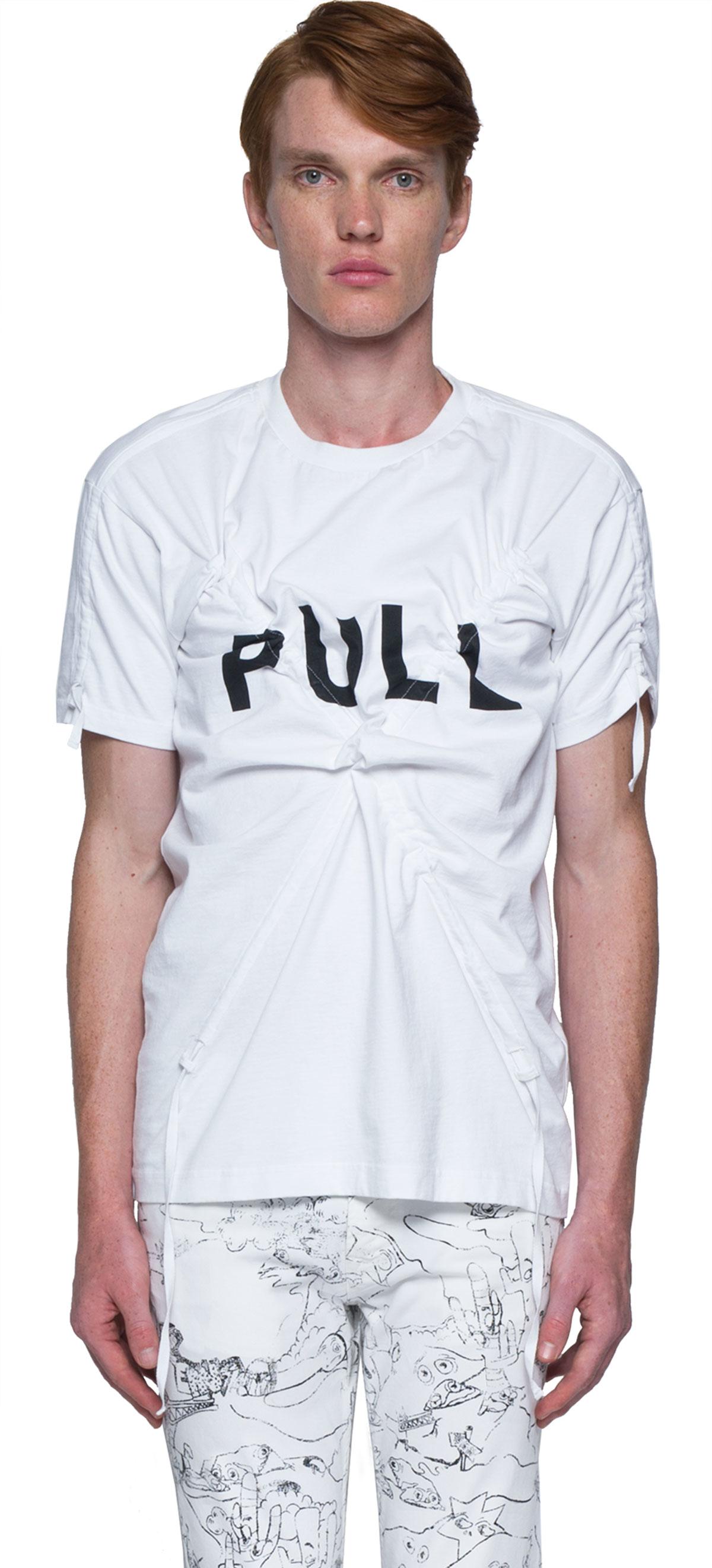 Raf Simons Mens 1911321901000033 Fuchsia Cotton T-shirt