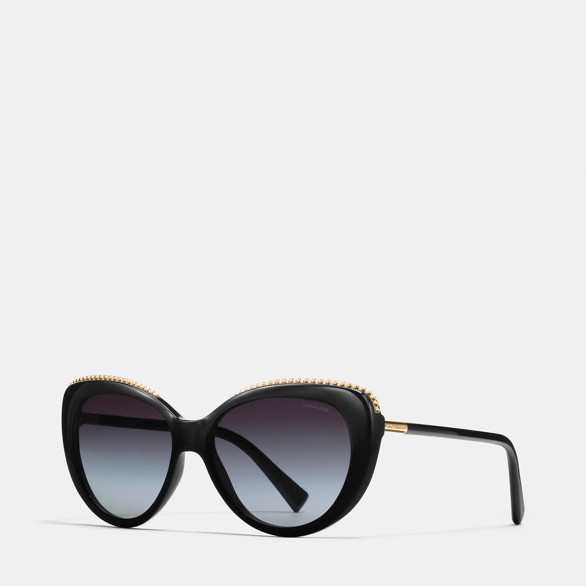 Coach Tea Rose Aviator Sunglasses Coach Vw9Ml46I