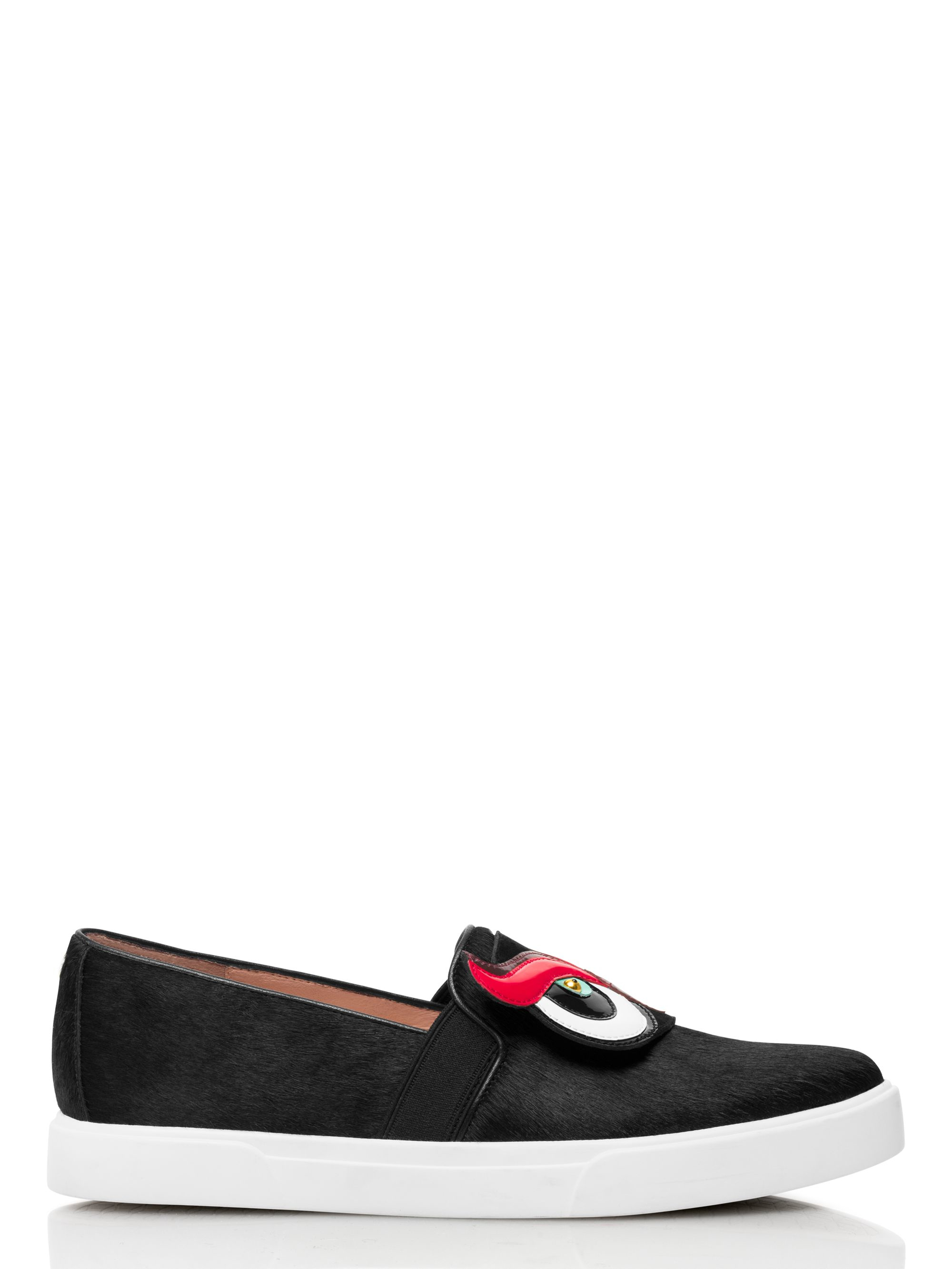 Lyst kate spade new york colie flats in black for Kate spade new york flats