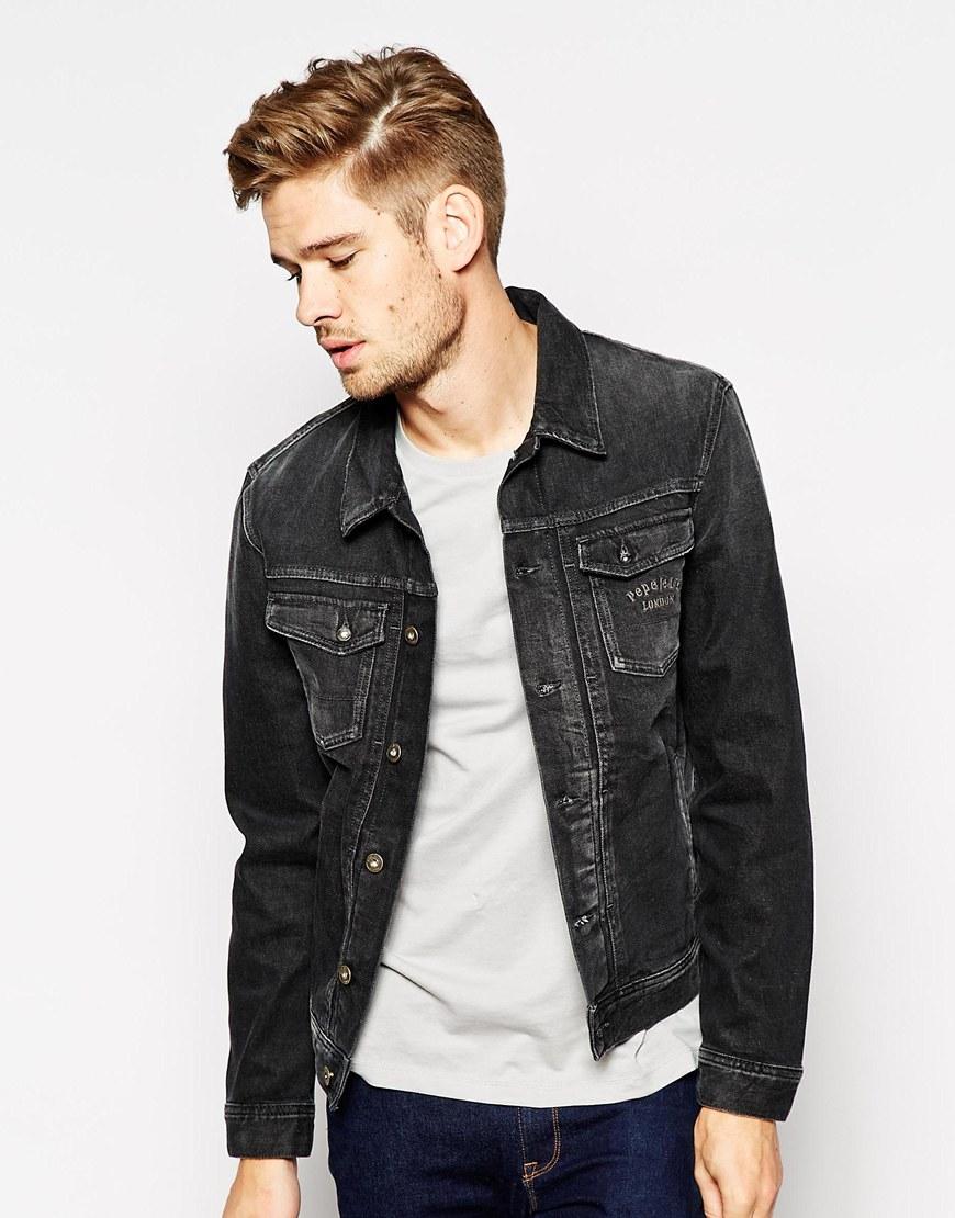 Pepe jeans Pepe Denim Jacket Rooster Slim Fit Stretch Rocker Wash
