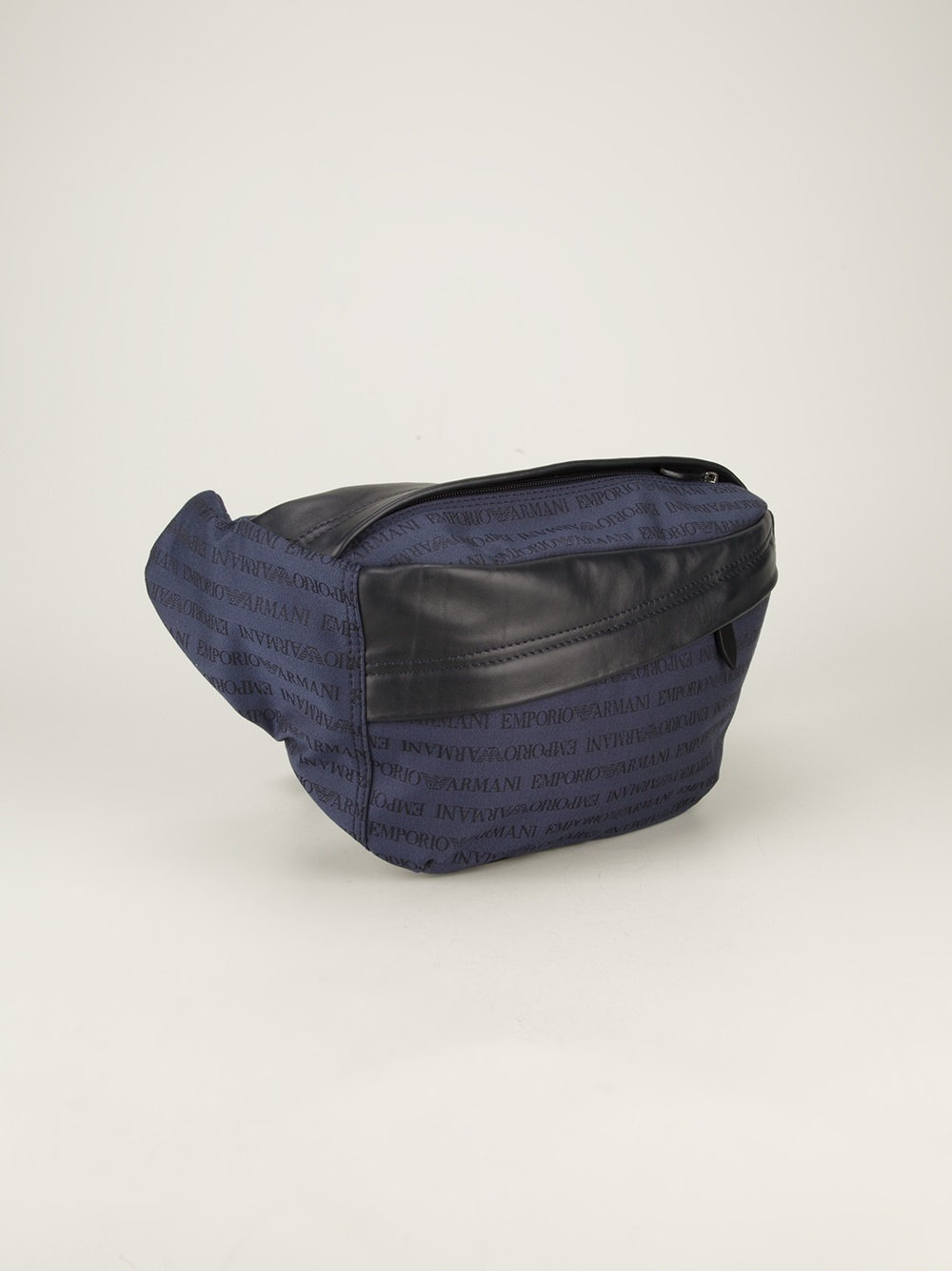 e4ee23d329 Lyst - Emporio Armani Branded Bum Bag in Blue for Men