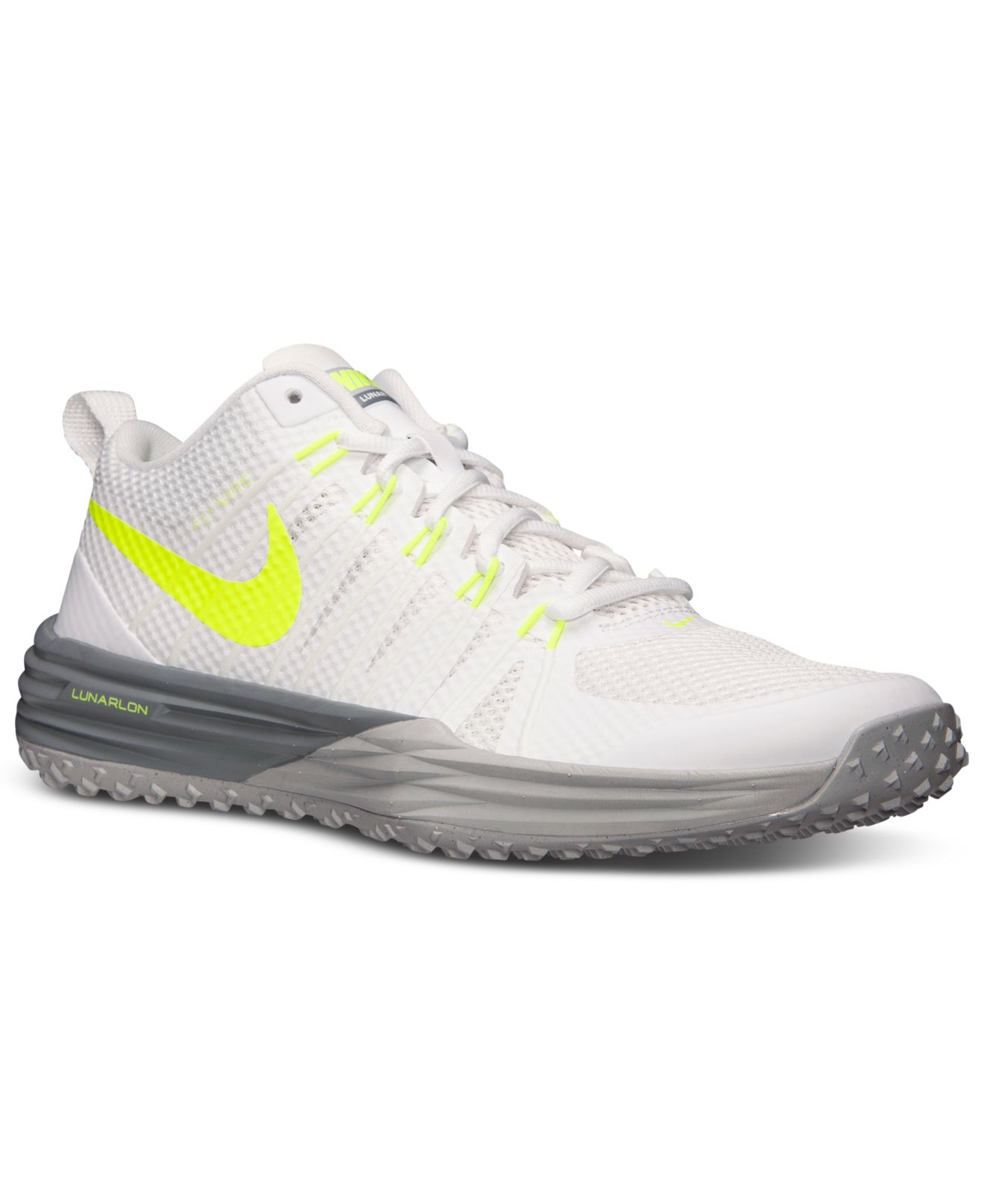 half off 9bb38 5223e Nike Mens Lunar Tr1 Training Sneakers From Finish Line in White for Men -  Lyst